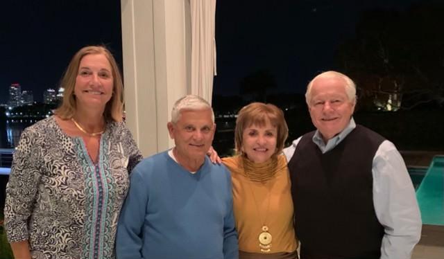John & Mary Stachnik with Robin Tauck